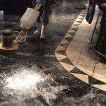 getting marble polished